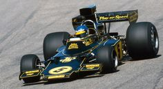 ronnie peterson | Ronnie Peterson i sin Lotus 72E på Anderstorp 1975 (Foto: Teknikens ...
