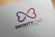 Check out Infinity Love Logo by samedia on Creative Market