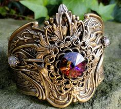 beautiful brass style cuff