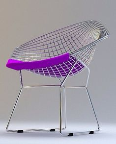 Diamond Harry Bertoia Chair by Knoll