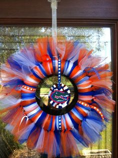Florida Gators Wreath by Jewlsbasement on Etsy, $28.00
