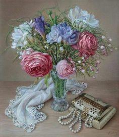 Ira Rom Lorenz | Flowers | Still life | Pinterest
