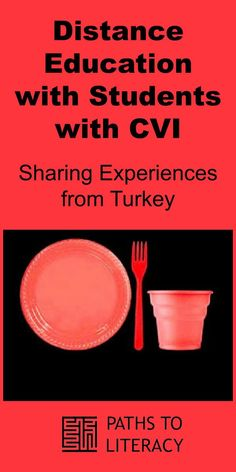 Distance education with students with CVI: Sharing experiences from Turkey Visual Impairment, Student Teaching, Literacy, Distance, Turkey, Students, Education, Blind, Paths