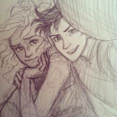 """""""Percy, your thumb is covering the camera lens""""-- burdge.....lovely Percabeth selfie."""