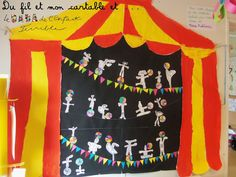 Du fil et mon cartable : Une rencontre : Le DaDa de l'Enfant Terrible chez nous et au cirque !