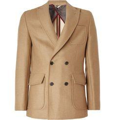 Billy Reid - Patterson Slim-Fit Camel Hair Coat
