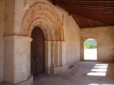 Near Pedraza, Segovia, Spain    Romanesque church : iglesia de la virgen de las vegas