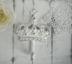 coat hook french country crown hook paris apartment by ShabbyRoad