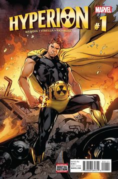 Hyperion #1 Marvel Comics (2016)