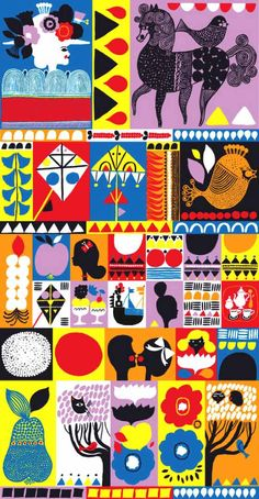 patternprints journal: LIVELY PRINTS AND PATTERNS BY AINO-MAIJA METSOLA