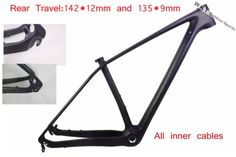 #Carbon #cycling 29er mountain bike frame  mtb bicycle frame #size15/17/19 142*12,  View more on the LINK: http://www.zeppy.io/product/gb/2/331788548396/