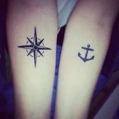 74 ideas de tatuajes que hacen juego para compartir con alguien que amas