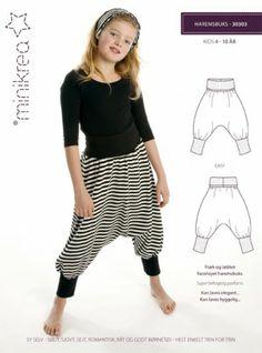 Minikrea harem pants // 4 - 10years