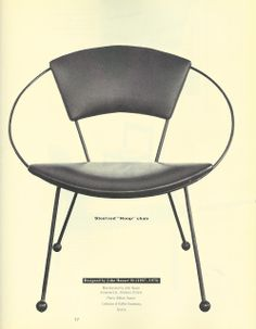 John Hauser Hoop Chair 1955
