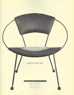 John Hauser Hoop Chair 1955