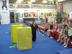 Tips for Teaching Cartwheels to Kids Tip 1 - YouTube