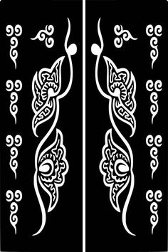 Variety Temporary Tattoo Glitter Body Art Decal Template Eid Ramadan by on Etsy Stencil Stickers, Letter Stencils, Henna Tattoo Stencils, Henna Art, Temporary Tattoo, Tribal Tattoos, Paper Flowers, Body Art, Embroidery Designs