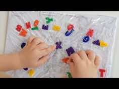 Spelling Activities For Kids With Lego - YouTube