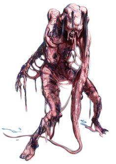 BioShock Art & Pictures,  Biological Enemy 7