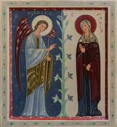 Annunciation by Olga Shalamova