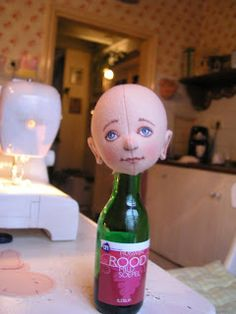 Making a felt doll part 1