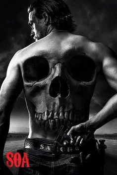 Sons of Anarchy - Jax Back - Official Poster