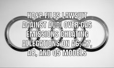 The law firm of Heygood, Orr & Pearson filed a lawsuit against Audi over allegations of gasoline emissions cheating on more than vehicles. Product Liability, Power Cars, In Law Suite, Cheating, Audi, Sayings, Vehicles, Lyrics, Sport Cars