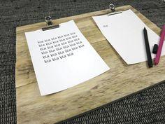 Klemmbrett Holz Pärchenklemmbrett | Kellerherz DIY Blog Shop Dings
