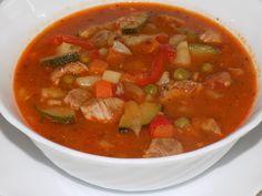magiczna kuchnia Kasi: Zupa gulaszowa z warzywami