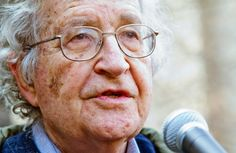 """Noam Chomsky (Jew),the greatest living intellectual,the most important political thinker. He warned that Europe is fundamentally racist society that does not tolerate diversity. : """"Serbs, Europe didn't like you and didn't want you ! Europe is very racist towards the idea that the Serbs join the Union. The EU is rushing towards a suicide."""""""