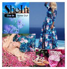 """SHEINSIDE  4/V"" by esma-osmanovic ❤ liked on Polyvore featuring mode"