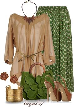 """Boho to the Maxi"" by leegal57 ❤ liked on Polyvore"