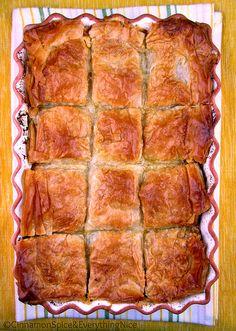 Greek Chicken Phyllo Pie