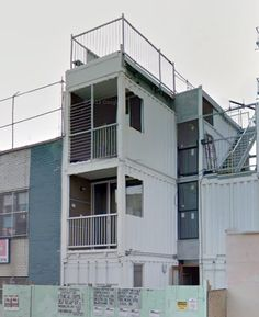 351 Keap St  /  container house in williamsburg brooklyn