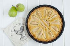 Severský hruškový koláč s mandlemi