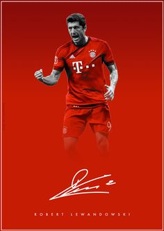 The Signature Series on Behance - Robert Lewandowski - FC Bayern Munchen