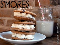S'mores Whoopie Pies by DesignedbyDawnNicole, via Flickr