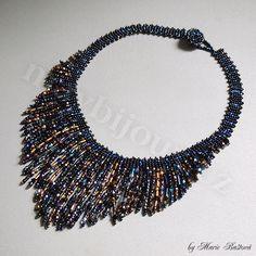 """Night Reflections"" necklace by Majka"