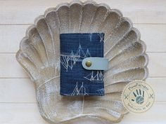 Ahoy Sailor! card holder by ManoFactured on Etsy