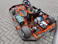 Прокатные картинги, электрокартинг. - 3 Go Kart Chassis, Tube Chassis, Electric Go Kart, Electric Car, Go Kart Designs, Go Kart Buggy, Smart Roadster, Go Kart Parts, Raleigh Bikes