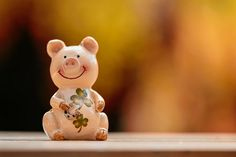 Prasiatko pre šťastie Rodin, Creative Logo, Lucky Charm, Piggy Bank, Free Images, Appreciation, Charmed, Cute, Money Box