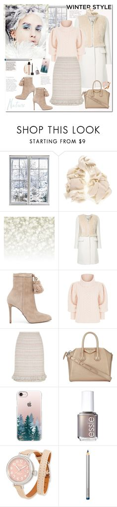 """""""Winter time"""" by ellie366 ❤ liked on Polyvore featuring Black, Guild Prime, MICHAEL Michael Kors, Temperley London, St. John, Givenchy, Casetify, Essie, Shinola and Laura Mercier"""