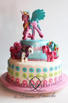 My Little Pony Cake para Miranda