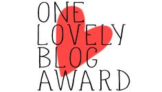 Live Jennormously Nominated for One Lovely Blog Award!