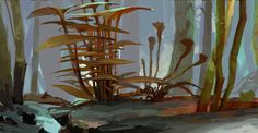 ArtStation - Landscape explorations and sketches, Reiko Groß