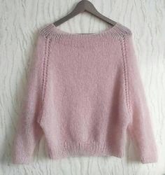 Beginner Knitting Patterns, Chunky Knitting Patterns, Vintage Crochet Patterns, Knitting Designs, Baby Knitting, Knitting Needles, Mohair Sweater, Knit Fashion, Girls Sweaters