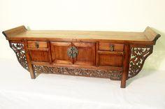Antique Chinese Petit Altar (5491), Cypress Wood, Circa 1800-1849