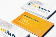 Trade Trackers Business Cards