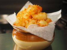 Fried Cheese Curds recipe from Amanda Freitag via Food Network
