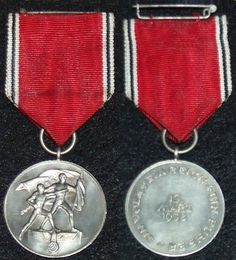 Nazi German Medals and awards campaign medals